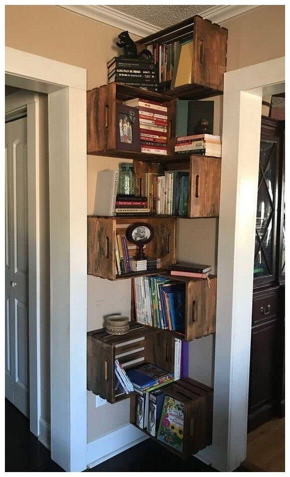 46 Home Decor On A Budget Apartment Ideas 24 Bookshelves Diy Home Diy Decor