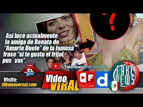 "Así luce actualmente la amiga de Renata de ""Amarte Duele"" de la famosa f..."