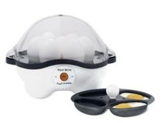 West Bend Automatic #Egg #Cooker cooks  your egg soft, hard boiled, poached or steam scrambled, try it at only $37.97
