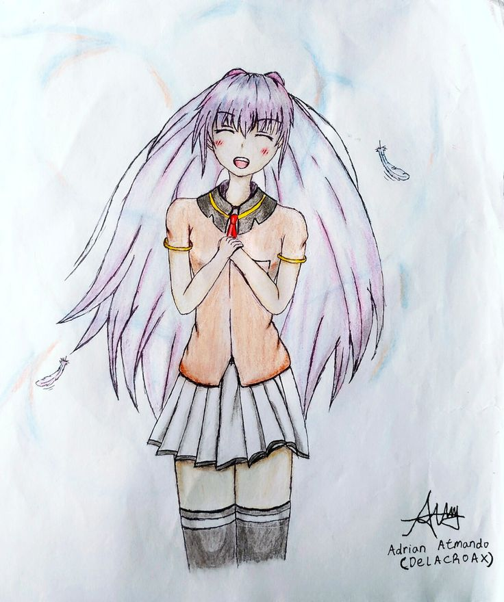 Character : Dunno - Like Isla but Different (Plastic Memories)  This drawing like Isla because i thought Isla before i'm drawing this. So natural if this drawing look similar.