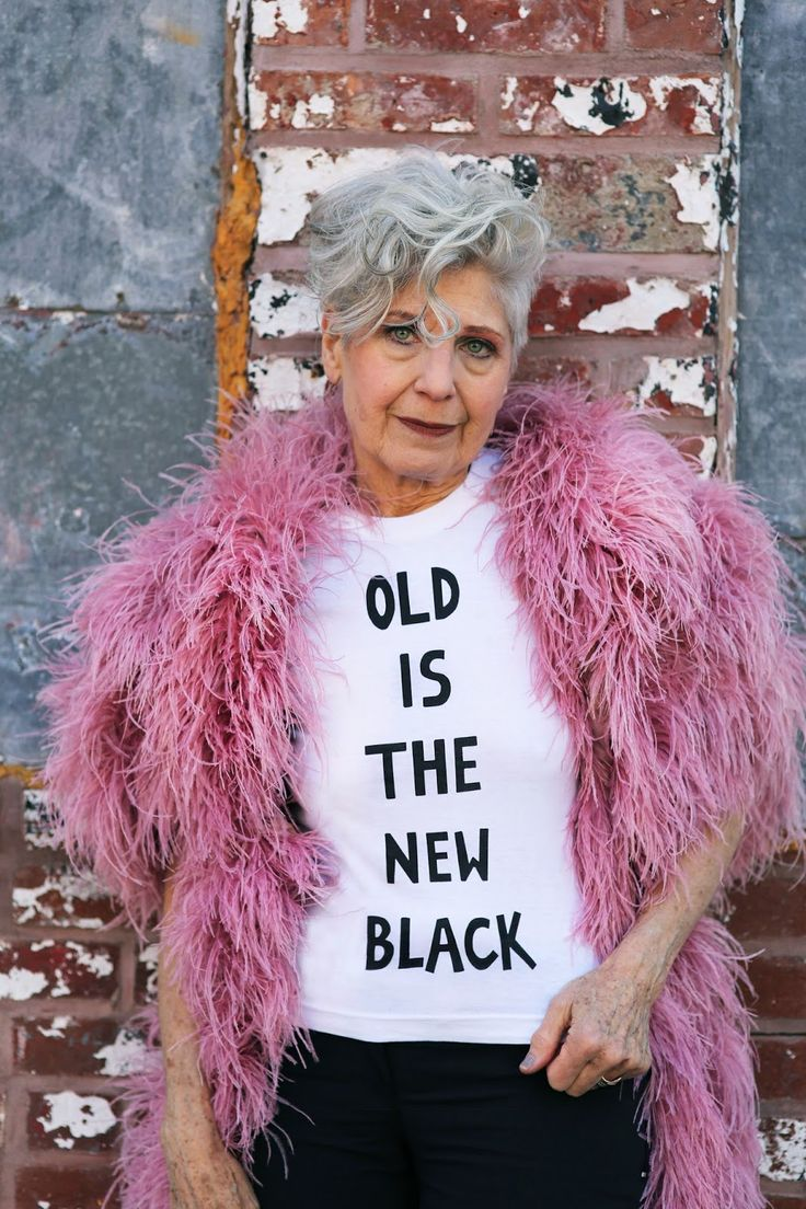 T-shirts are available in both Old Is The New Black and Old Is The New Gold Styles Aging never...