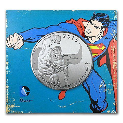 2015 Canada 1/4 oz Silver $20 Original Superman Brilliant Uncirculated @ niftywarehouse.com #NiftyWarehouse #Superman #DC #Comics #ComicBooks