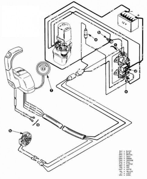 Mercruiser Trim Motor Wiring Diagram
