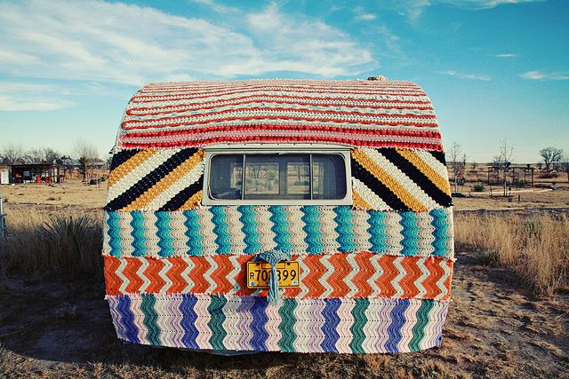 @Rebecca Whitney how sweet is this?  you need to get a camper so you can knit a cover for it :)