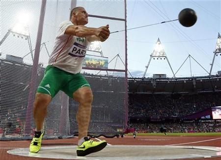 Olympic Hammer Throw | hammer throw final during the London 2012 Olympic Games at the Olympic ...