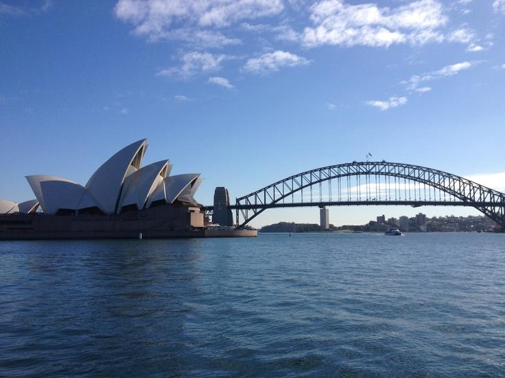 Harbour Bridge en Opera House-Sydney