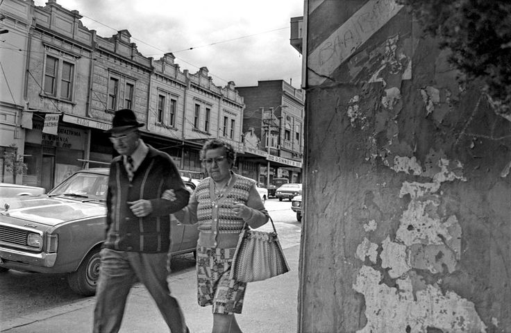 Stepping out, High Street, 1976.