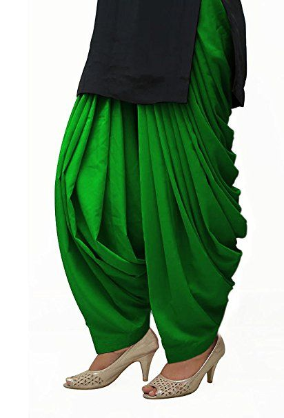 Patiala Salwar from Punjab - available in many colours combination salwar specially made from punjab: Amazon.in: Clothing & Accessories
