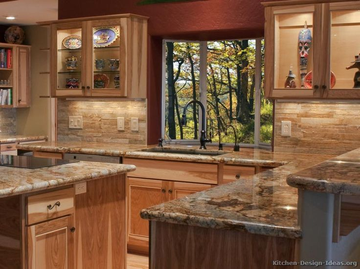 rustic kitchen cabinet designs. kitchen designs photo gallery for 13 x 11  Rustic Kitchen Designs Pictures and Inspiration Best 25 Hickory ideas on Pinterest hickory