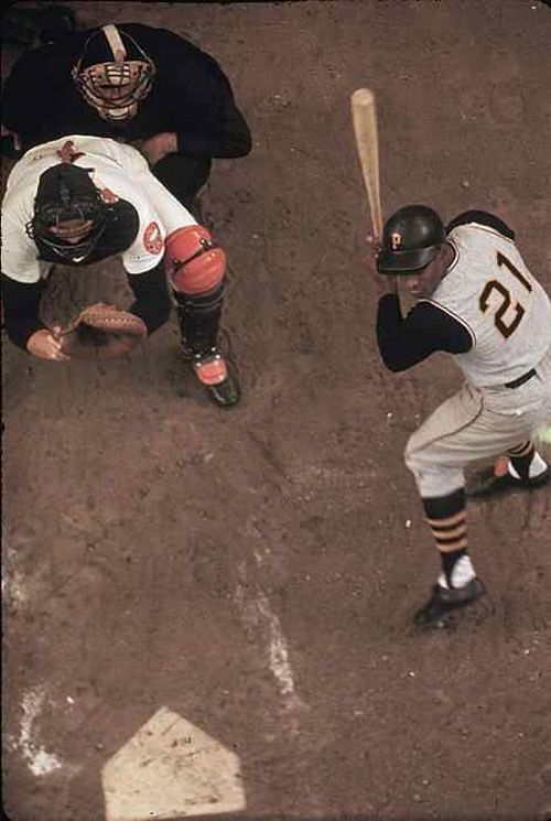 Great picture of Roberto Clemente!