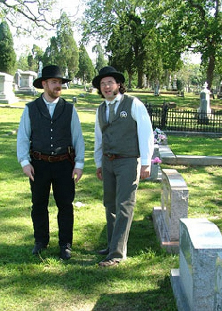 Tales of the Crypt : Historical Reenactment at Oak Cemetery by Fort Smith Parks and Recreation