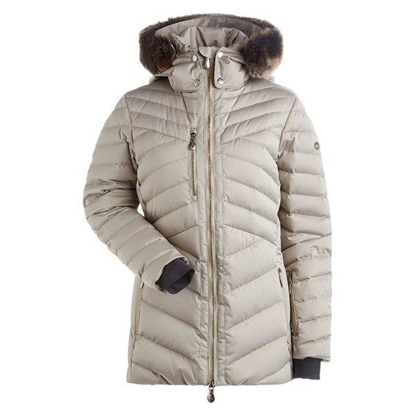 b2ae3683e49 Nils Women s Sonja Faux Fur Insulated Ski Jacket