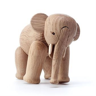 Kay Bojesen is the designer of the wooden elephant from Kay Bojesen Denmark, a much appreciated gift for both children and adults. The elephant was designed in 1953 and it is just one of many wooden animals by Kay Bojesen.