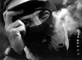 Subcomandante Marcos of the EZLN.