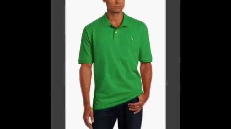 Top U.S. Polo Assn. Men's Solid Polo with Small Pony