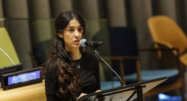 #Iraqi woman unveils harrowing memoir about being a sex slave for #Daesh. #NadiaMurad #ISIS