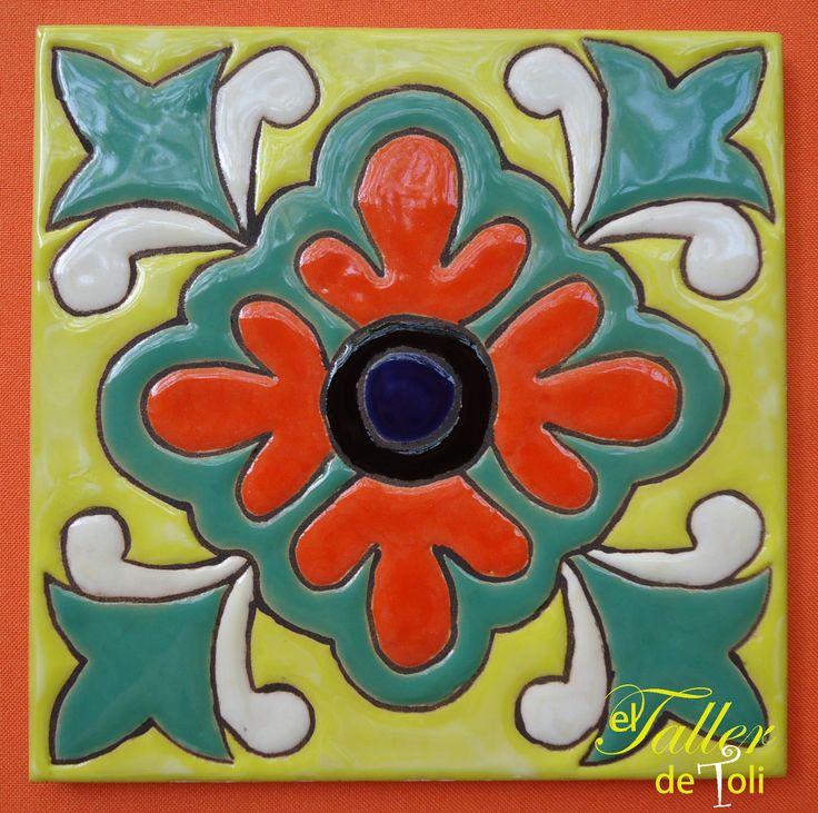 ✿⊱╮Mayólicas artesanales realizadas en el Taller
