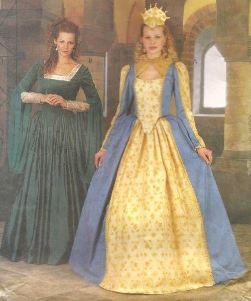 Renaissance Faire Wedding Dress Gown Costume History Mccalls: 125 Best Costumes & Historical Reenactors Costume Patterns