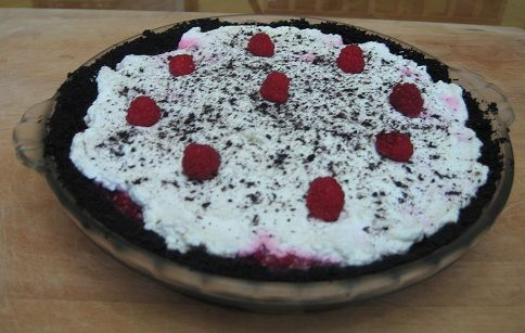 Razzle dazzle red raspberry pie recipe is in memory of my daughter-in-law, Kathleen Stradley of Canby, Oregon. This is a very rich and delicious pie.