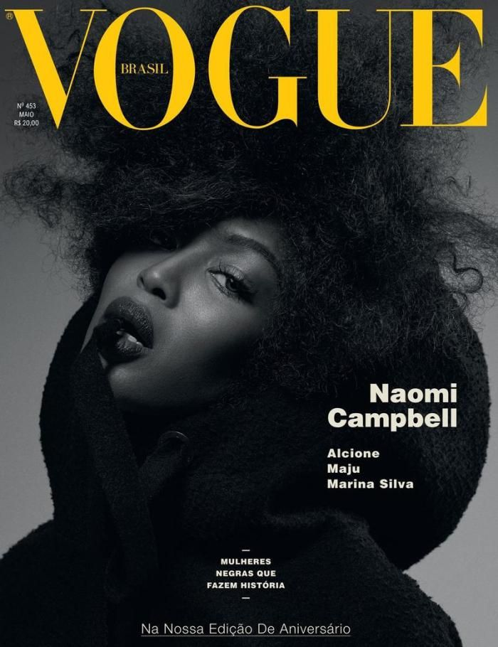 634 best magazine covers images on pinterest magazine covers naomi campbell for vogue brazil may 2016 fandeluxe Choice Image