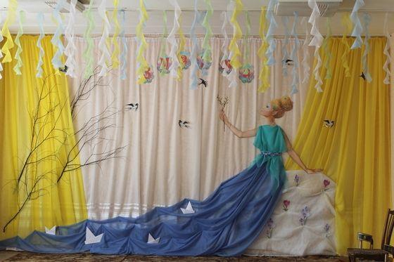 Детский сад. Оформление музыкального зала к праздникам. - Работы новичков - Сообщество декораторов текстилем и флористов