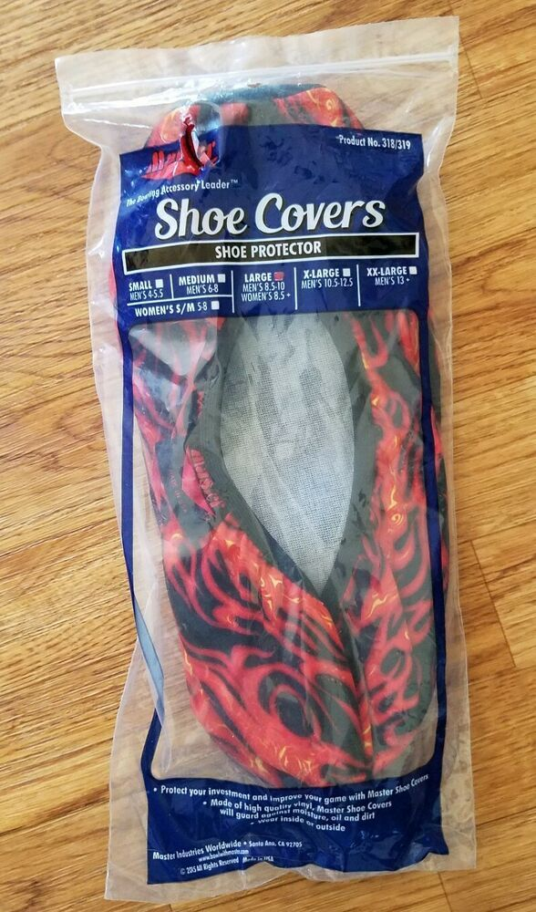 Flame Shoe Covers by Master
