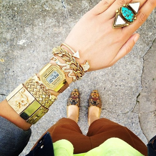 accessorize your wrists, girl