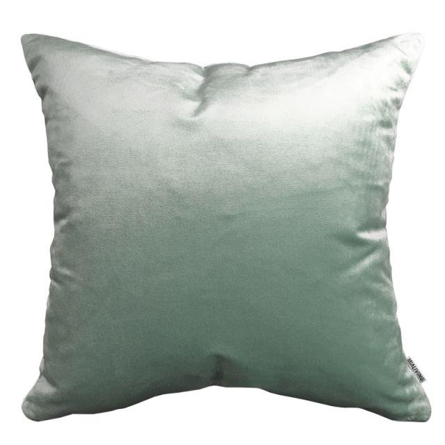Velvet Glamour Pastel Mint Pillow #pillows #throwpillow #interiors #homedecor #cushions #mialiving
