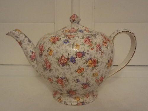 Vintage Royal Winton Chintz Eleanor Albans Teapot | eBay