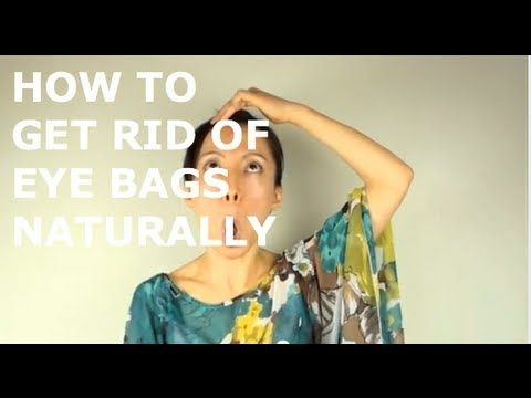 ▶ How To Get Rid Of Eye Bags with The Face Yoga Method - YouTube