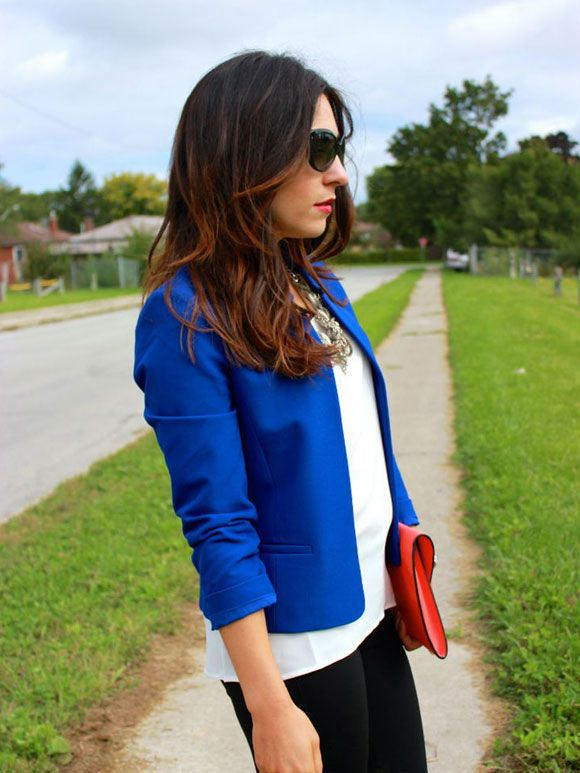 Fashion Fix: blauwe blazer