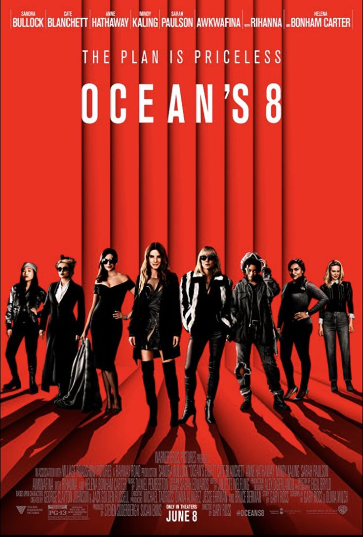 "Watch this review of ""Ocean's 8"":http://yeticket.com"