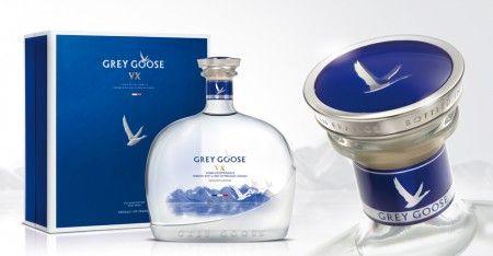 дизайн упаковки водки Grey Goose VX