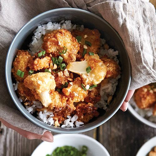 Würziger Sesam-Blumenkohl   – healthy recipes