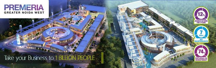 Presenting #Imperia #Premeria the first high-street #mall in KP-V, #GreaterNoidaWest.