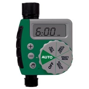 Save yourself some time. Run drip hoses to all your garden beds and set them up on a timer. Orbit 91213 One-Dial Garden Hose Digital Water Timer $33.50 http://amzn.to/IQ4ZaW