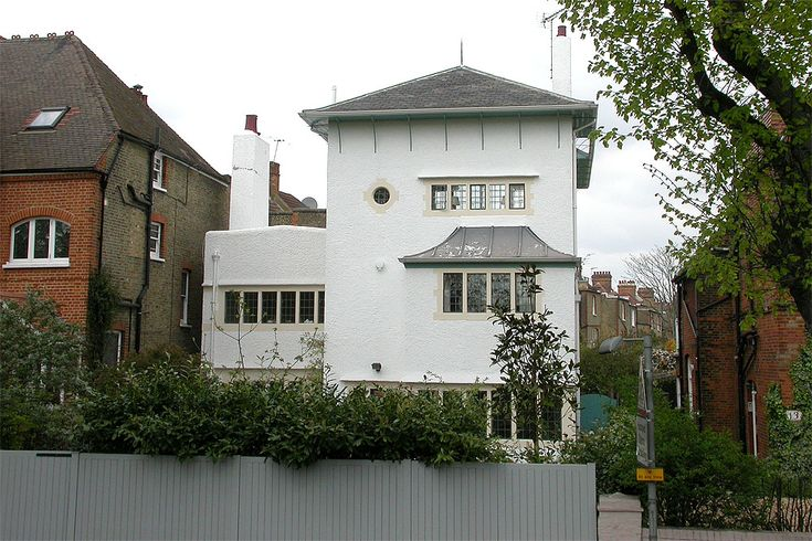 Turnham green charles voysey google search english for Arts and craft homes