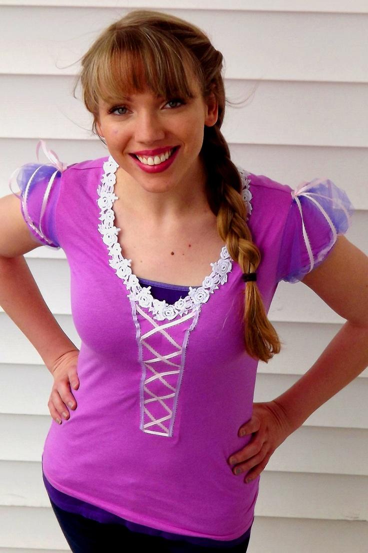 Princess Rapunzel Costume T Shirt Made To Order