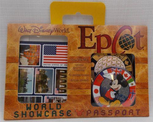 Disney-World-Parks-Epcot-World-Showcase-Passport-Kit-New