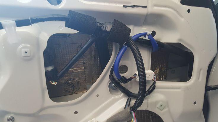 Toyota GT86 ajtó szigetelés