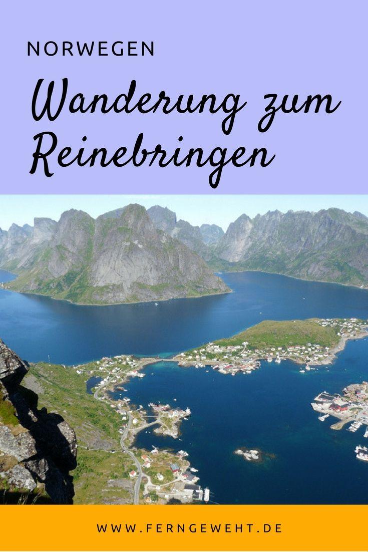 Die Wanderung zum Reinebringen auf den Lofoten führt dich zum besten Aussichtspunkt von ganz Norwegen.