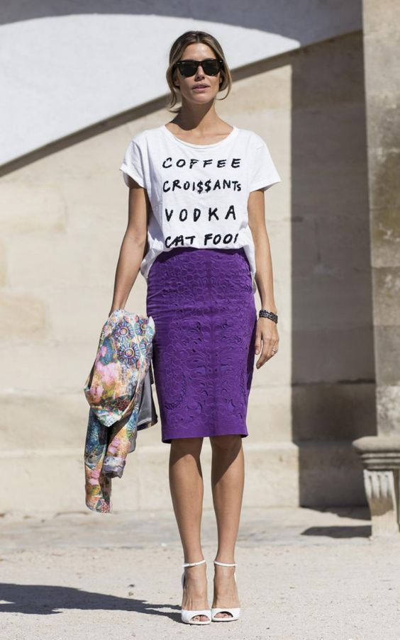 9 outfits con el color del año: Ultravioleta