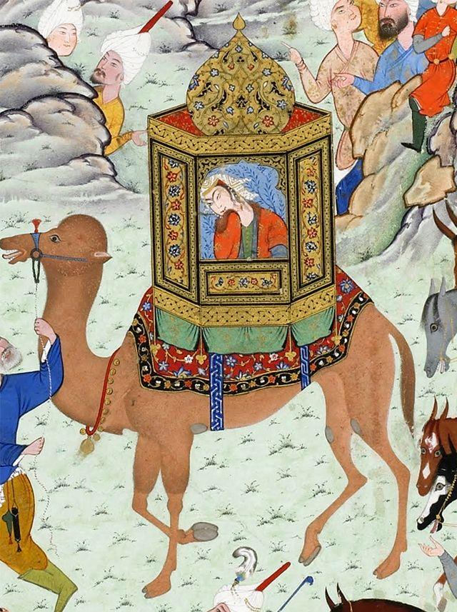 Aziz and Zulaykha ennter the capital of Egypt,det.