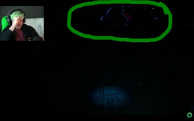 i was watching a JackSepticeye video, i paused it, and i found this... MANGLE IS NOT SUPPOSED TO BE IN FNAF S.L.!!
