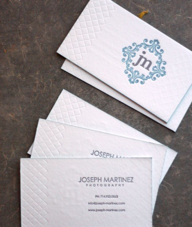 137 best business cards letterpressed or debossed images on i heart letterpress reheart Choice Image