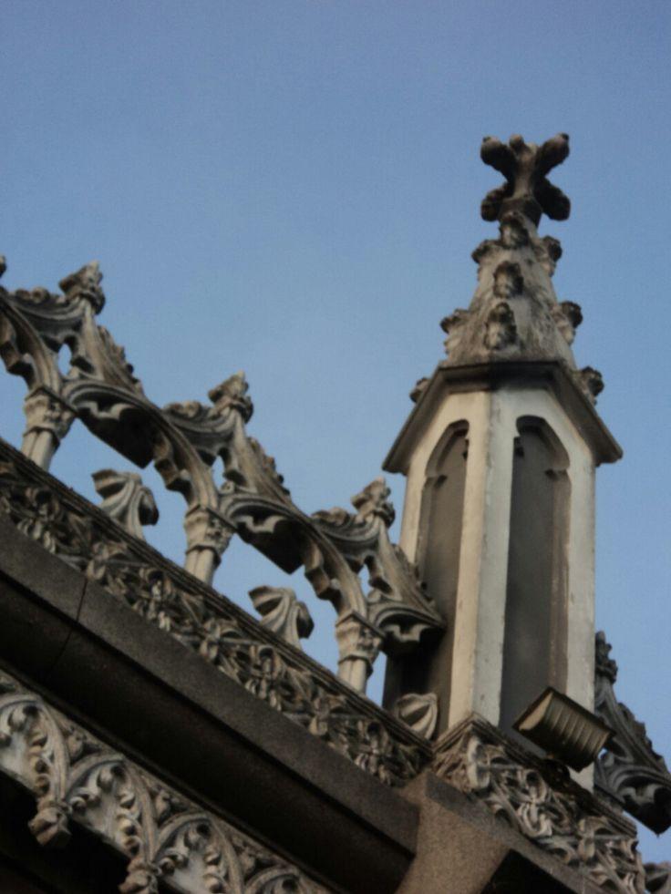 Detalle arquitectura religiosa