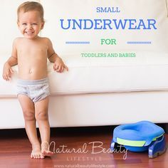 Small Underwear for Toddlers and Babies   Potty Training   Natural Beauty Lifestyle