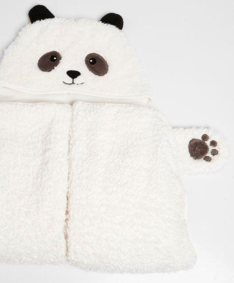 Couverture capuche panda - OYSHO 35,99€