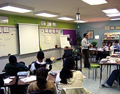 Give Your Space the Right Design  Feng shui principles transform a classroom. by Amy Standen
