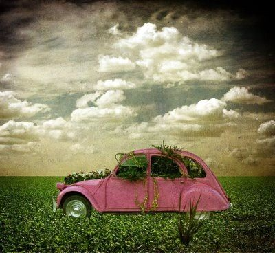 pink citroen 2cvo#Repin By:Pinterest++ for iPad#